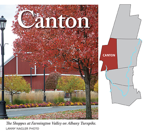 Historically Canton Comprises Collinsville Colonial Era Center Rural North And Commercial Village